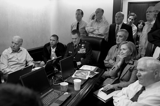 Obama In White House Situation Room by warishellstore