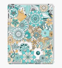 70s Style Flower Power iPad Case/Skin