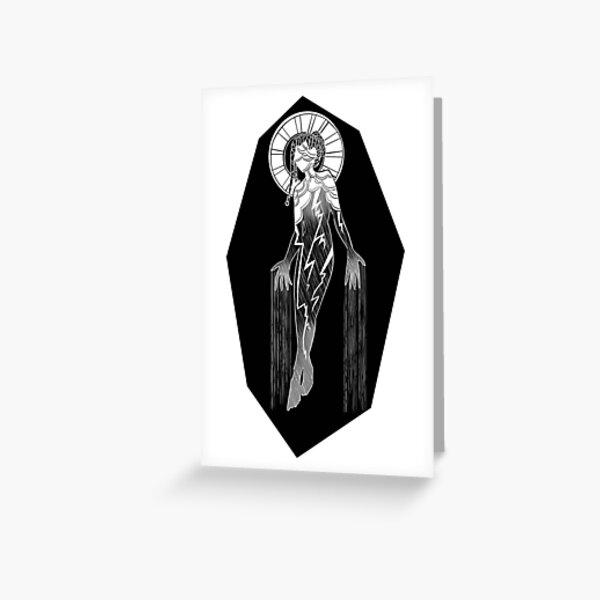 She Who Walks Among Storms Greeting Card
