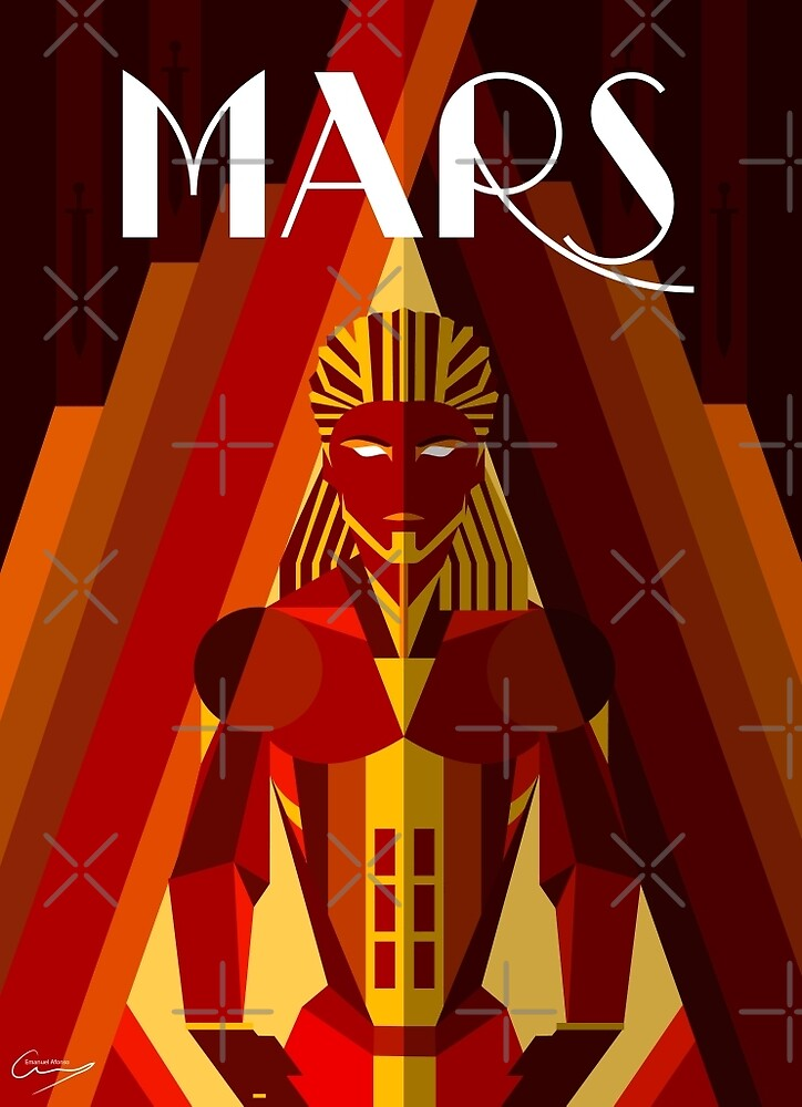 Mars by OuterSaturn