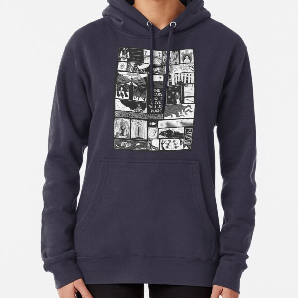 Furiously Prognosticating Block Poster Pullover Hoodie