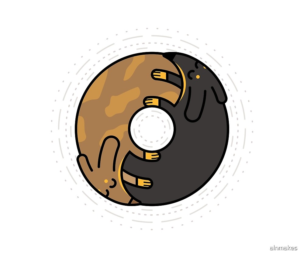 Sausage Dog Donut by alnmakes
