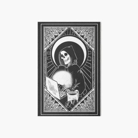 The Caretaker Poster Art Board Print