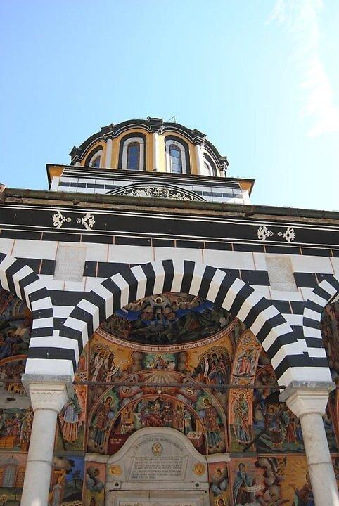 Rila Monastery Bulgaria by beckb
