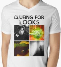 Clueing For Looks Men's V-Neck T-Shirt