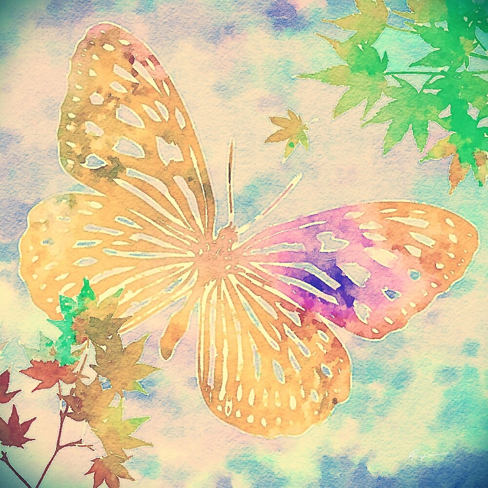 Butterfly #6 by Anthony Ross