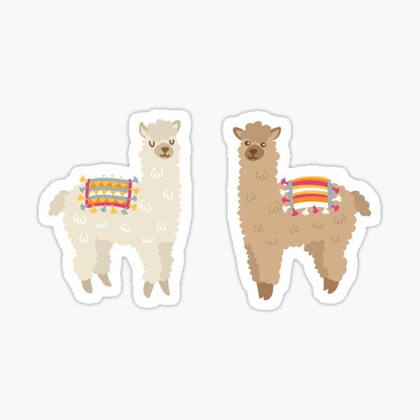 Alpaca, Llama, peculiar, pegatina Pegatina