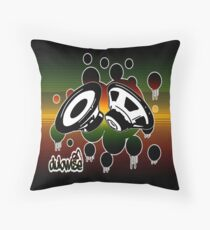 Dubwise-Rocksteady Throw Pillow