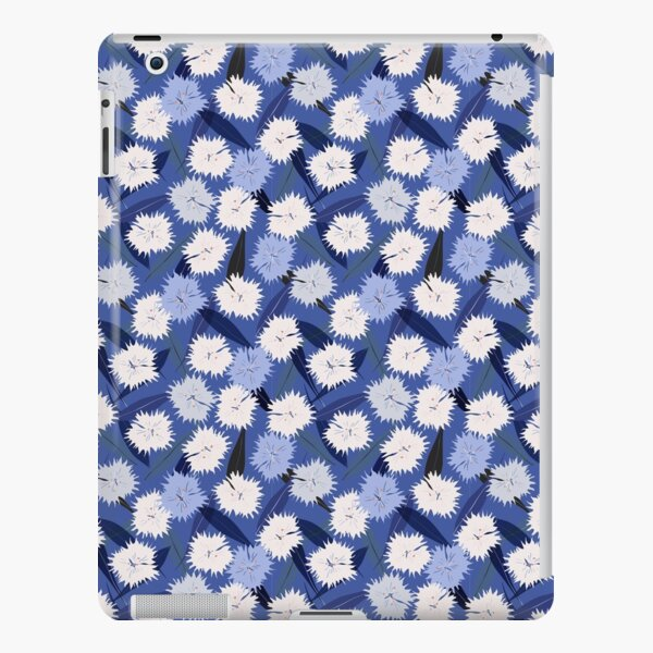 Carnations in blue iPad Snap Case