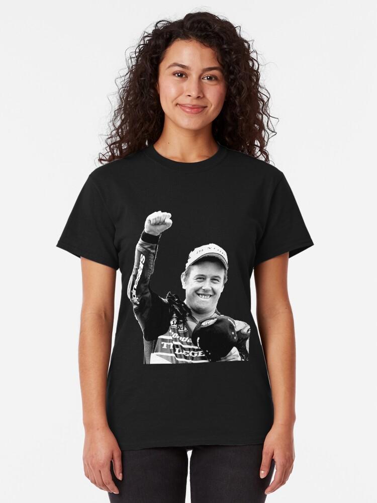 19ATS32 TT Black T-Shirt Official John Mcguiness