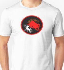 Unicorn vs the Red Bull Slim Fit T-Shirt