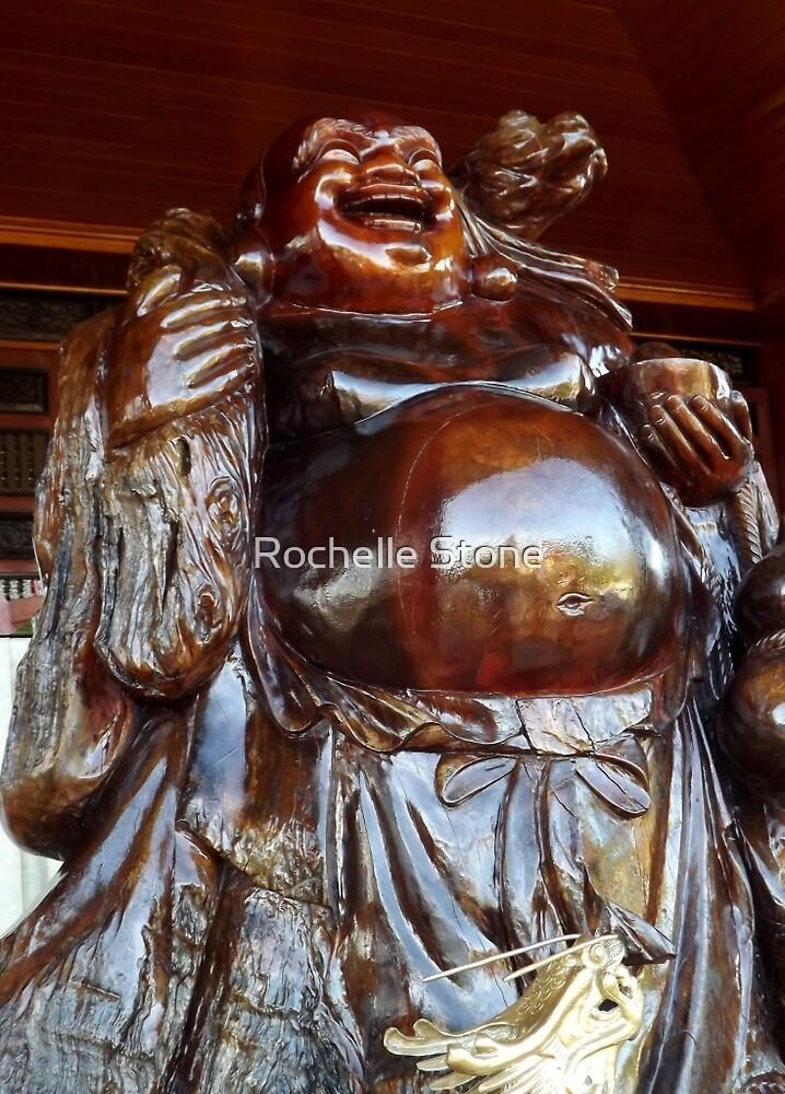 Happy Buddha by Rochelle Stone