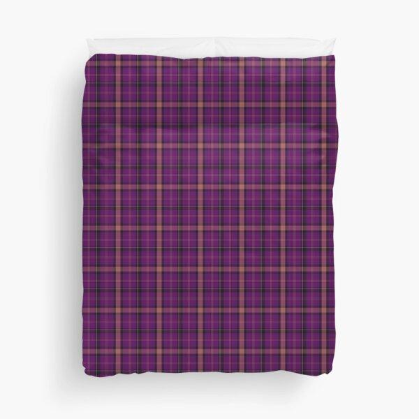Flannel Plaid Purple Pink Scottish Tartan Duvet Cover