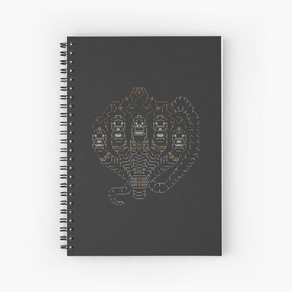 Khmer Dragon Spiral Notebook