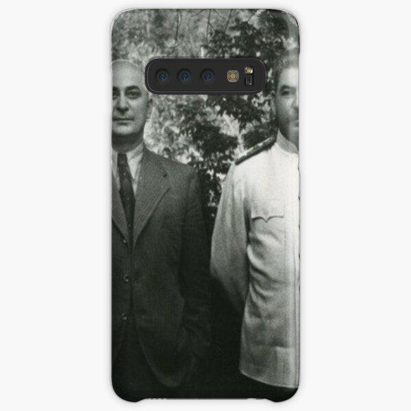 Stalin Beria Сталин Берия mature adult standing suit  Samsung Galaxy Snap Case