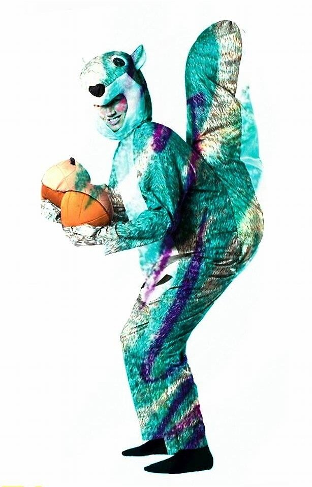 Aesthetic Squirrel man by memesgotohell
