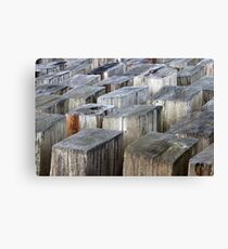 Abstract Sculpture Canvas Print