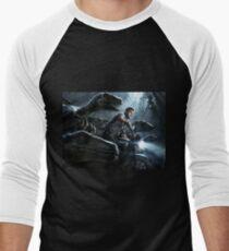 Jurassic World Men's Baseball ¾ T-Shirt