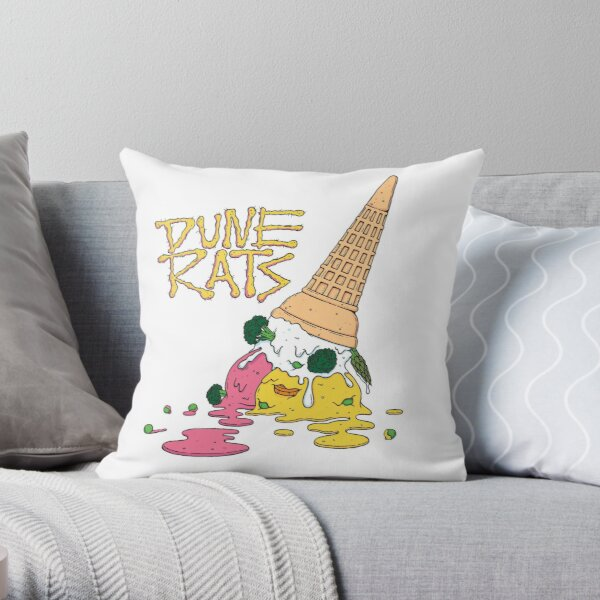 DUNE RATS Throw Pillow