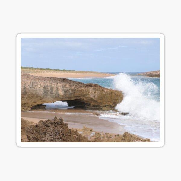 Natural Arch, Bowman Scenic Drive, Beachport. Limestone Coast.  Sticker