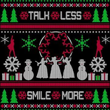 Talh Less Smile more Xmas by NovaPaint