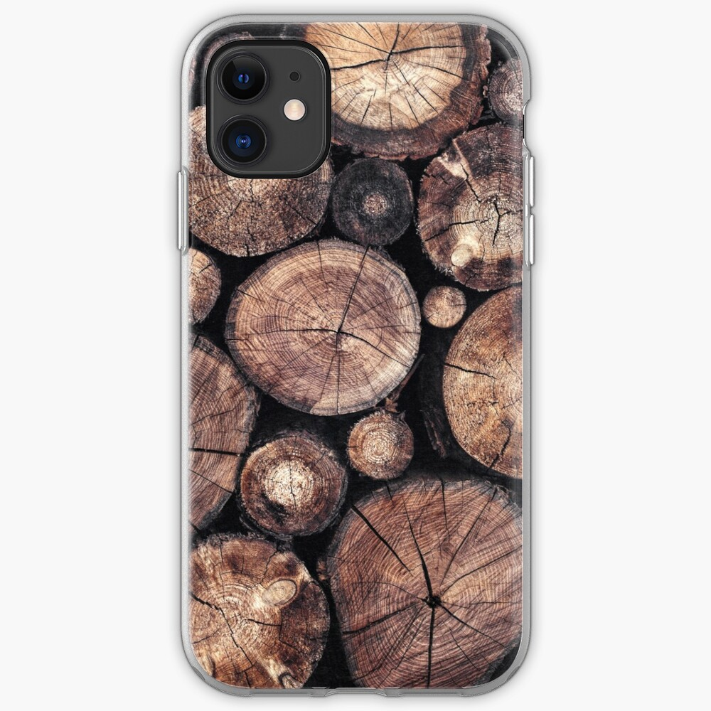 The Wood Holds Many Spirits iPhone Case & Cover