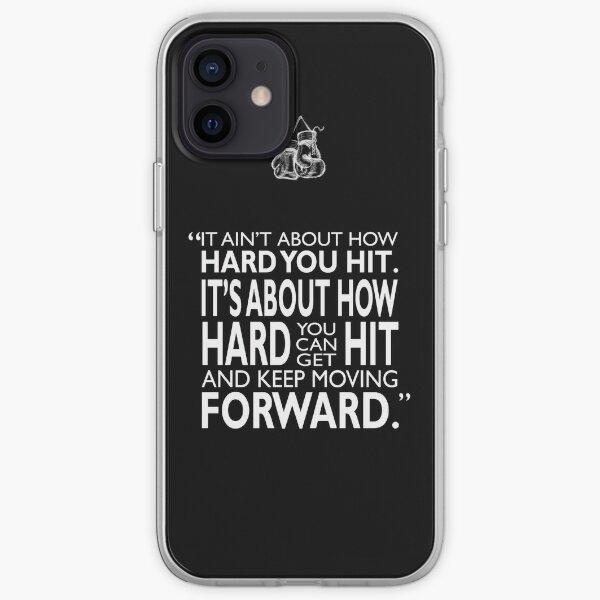 Continuez à avancer Coque souple iPhone