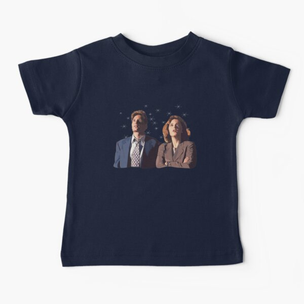 the X files deep throat Fox Mulder and Dana Scully  Baby T-Shirt
