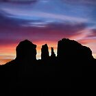 Sunrise Silhouettes by Kathy Weaver