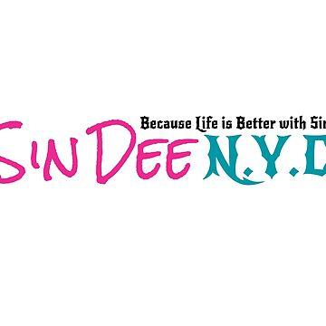 Sin Dee NYC - Classic Logo by SinDeeNYC