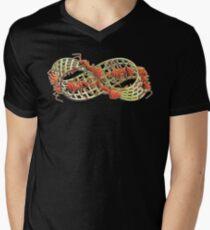 Ants on the Mobius Strip (MC Escher) Mens V-Neck T-Shirt