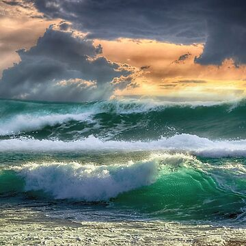Beautiful waves by fourretout