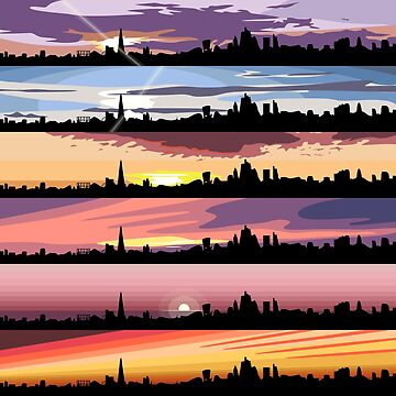 Equinox Sunsets (London Sunsets 01-06) de jezkemp
