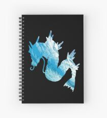 Gyrados used surf Spiral Notebook