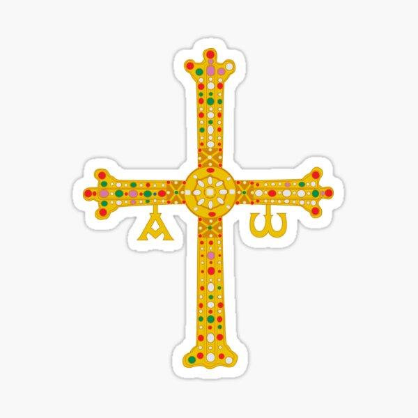Cruz de Asturias Sticker