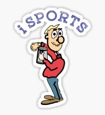 Sports, action, moving, funny Sticker