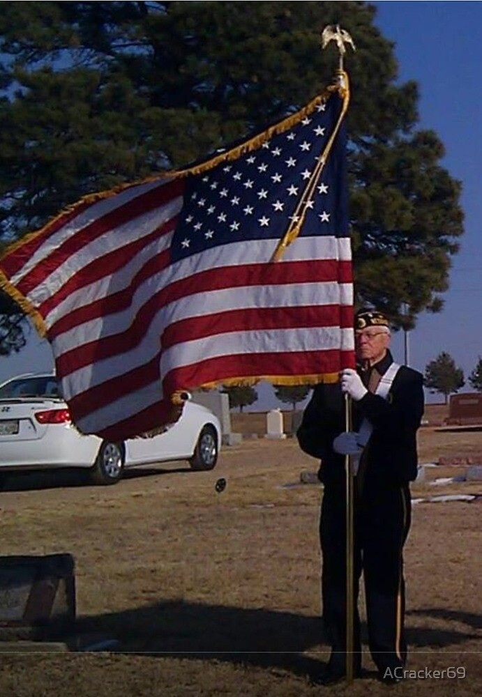 A guy, a flag and a huge heart by ACracker69