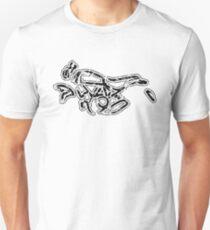 Scrambler 800 Motorcycle Calligraphy Vintage BK Unisex T-Shirt