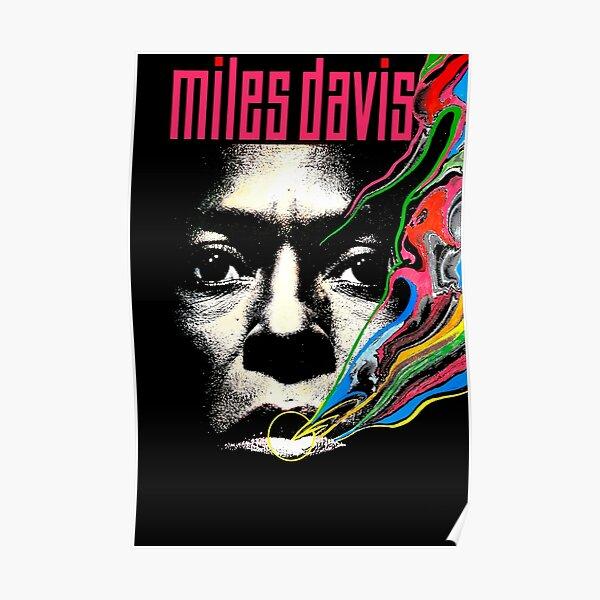 Miles Vintage Davis Concert Retro  Poster