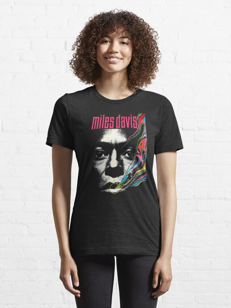 Alternate view of Miles Vintage Davis Concert Retro  Essential T-Shirt
