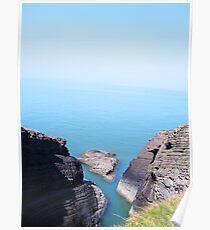 welsh coast Poster