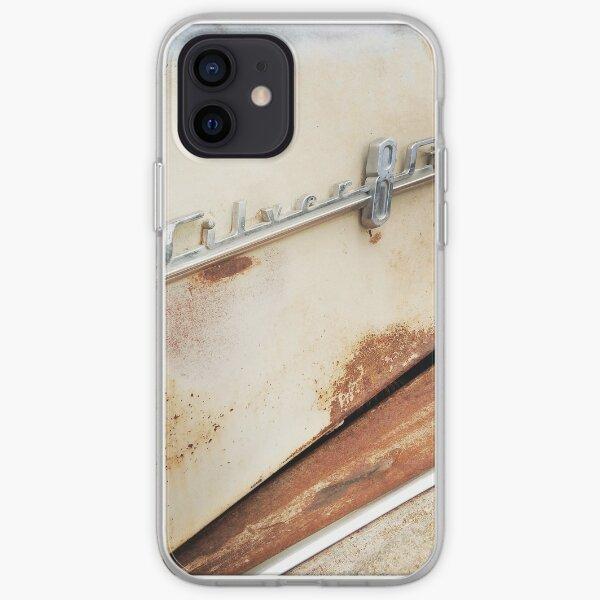 Silver 8 Streak Coque souple iPhone