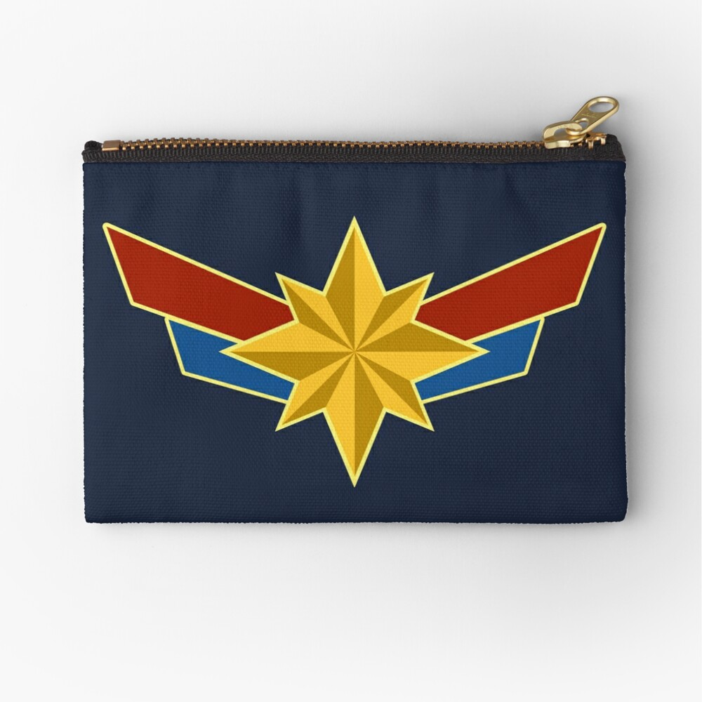 Super Heroine Zipper Pouch
