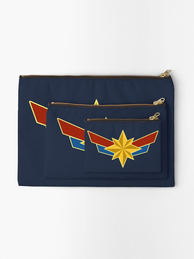 Alternate view of Super Heroine Zipper Pouch