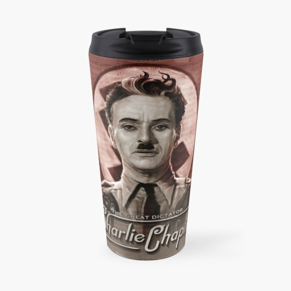 The Great Dictator - Charlie Chaplin Travel Mug