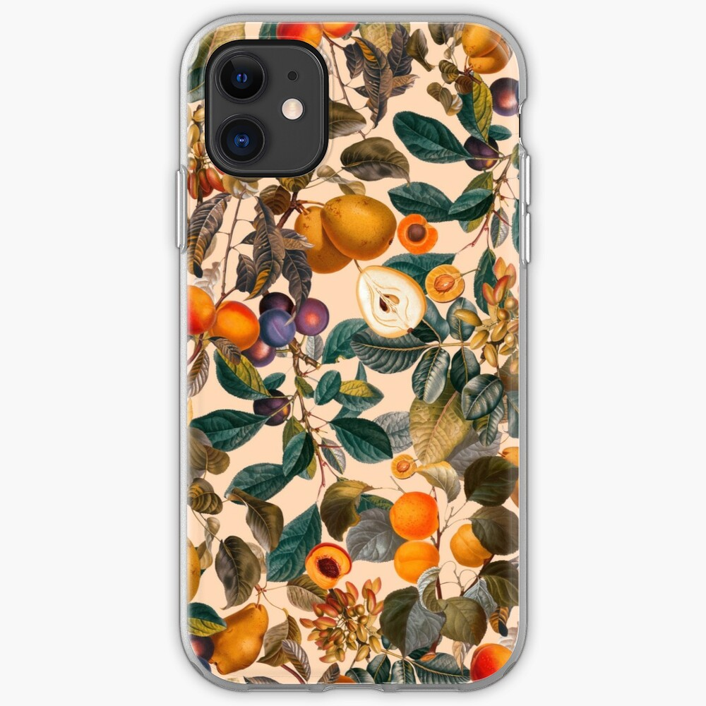 Vintage Fruit Pattern IX iPhone Case & Cover