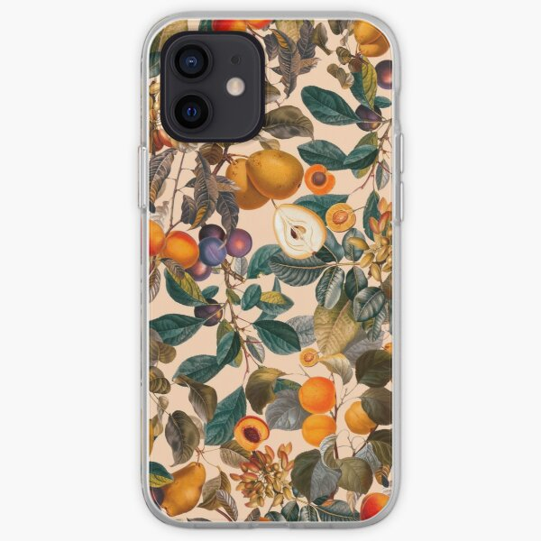 Vintage Fruit Pattern IX iPhone Soft Case