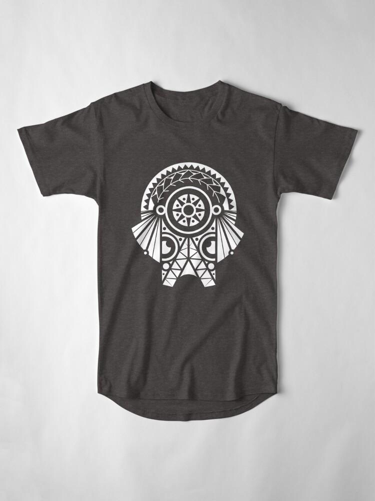 T-shirt long ''ELEPHANT Warrior': autre vue