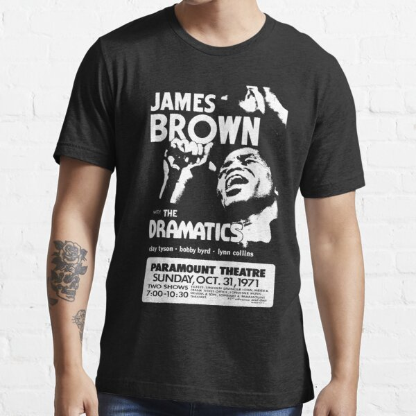 James Vintage Brown Concert Retro Essential T-Shirt