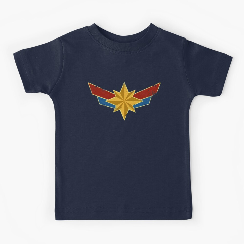Super Heroine (Aged) Kids T-Shirt